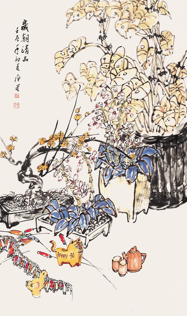 水墨画特点-统中国画的艺术特征